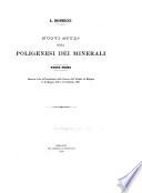 Nuovi studj sulla poligenesi dei minerali