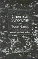 Gardner s Chemical Synonyms and Trade Names