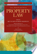 Cases  Materials and Text on Property Law