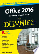 Office 2016 f  r Dummies Alles in einem Band