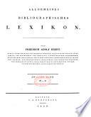 Allgemeines bibliographisches lexicon