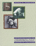 Ebook Introduction to Criminology Epub Hugh D. Barlow Apps Read Mobile