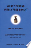 What s Wrong with a Free Lunch