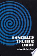 Language  Truth and Logic