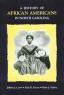 A History Of African Americans In North Carolina