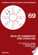 Zeolite Chemistry and Catalysis