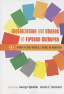 Globalization and Change in Fifteen Cultures