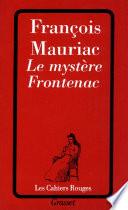 Le myst  re Frontenac