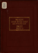 Palmer's Index to