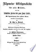 Allgemeine Weltgeschichte für alle Stände