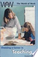 Choosing a Career in Teaching