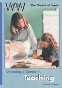 Choosing a Career in Teaching