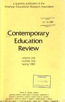 Contemporary Education Review