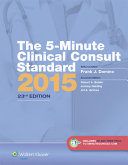The 5 Minute Clinical Consult Standard 2015