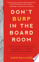 Don t Burp in the Boardroom