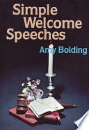 Simple Welcome Speeches Pocket Pulpit Library