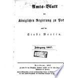 Amts-Blatt der Königlichen Regierung zu Potsdam und der Stadt Berlin