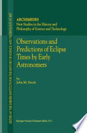 Observations and Predictions of Eclipse Times by Early Astronomers Whether As Omens Affecting The Future Of