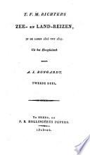 Zee- en land-reizen in de jaren 1805-1817