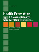 Health Promotion & Education Research Methods: Using the Five Chapter Thesis/ Dissertation Model