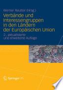 Verbände und Interessengruppen in den Ländern der Europäischen Union