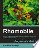 Rhomobile Beginner s Guide