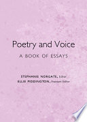 Poetry and Voice