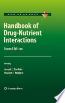 Handbook of Drug Nutrient Interactions