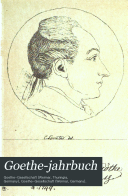 Goethe Jahrbuch