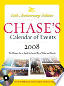 Chase S Calendar Of Events 2008 book