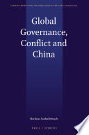 Global Governance  Conflict and China