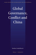 Global Governance, Conflict and China