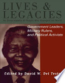 Government Leaders  Military Rulers and Political Activists