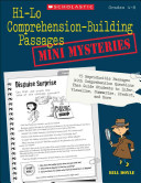 Hi Lo Comprehension Building Passages  Mini Mysteries