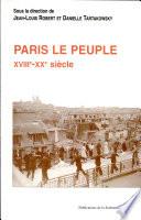 Paris le peuple