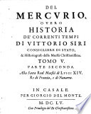 Il Mercurio Overo Historia De' correnti tempi