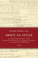 Briefe an Hitler