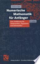 Numerische Mathematik für Anfänger