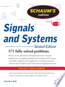 Schaum s Outline of Signals and Systems  Second Edition