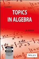 TOPICS IN ALGEBRA  2ND ED
