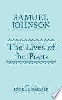 Samuel Johnson s Lives of the Poets