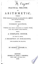 A Practical Treatise on Arithmetic