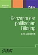 Konzepte der politischen Bildung