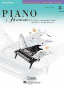 Piano Adventures  Level 3A  Technique   Artistry Book