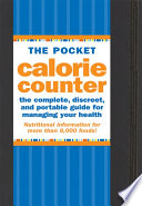 The Pocket Calorie Counter