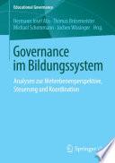 Governance im Bildungssystem