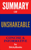 Summary of  Unshakeable  by Tony Robbins   Concise   Informative Summary   StickyBooks