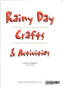 Rainy Day Crafts   Activities Book PDF