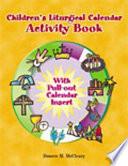 Childern s Liturgical Calendar Activity Book