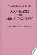 Deaf Persons in the Arts and Sciences